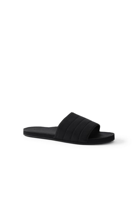 Men's Leather Slide Sandals