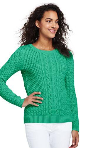 Le Pull Drifter en Coton, Femme Stature Standard