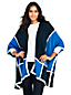 Women's Colourblock Cape