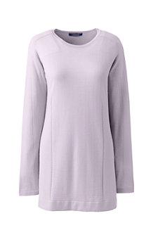 Langer Merino-Pullover für Damen