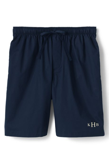 Men's Broadcloth Pajama Shorts