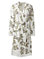 Women's Patterned Cotton/Modal Dressing Gown