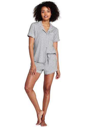 L'Ensemble Pyja-Short en Modal Stretch, Femme Stature Standard