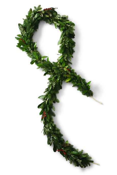 Eucalyptus Berry Christmas Garland