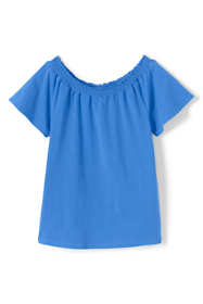 Girls Gathered Neck Top
