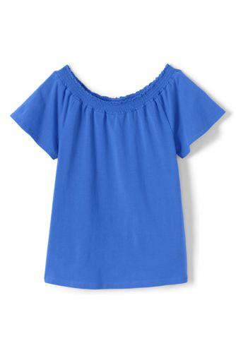 Le T-Shirt Ample à Fronces, Petite Fille