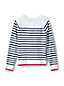 Little Girls' Raglan Sleeve Striped Cardigan
