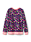 Little Girls' Lightweight Patterned Sweatshirt