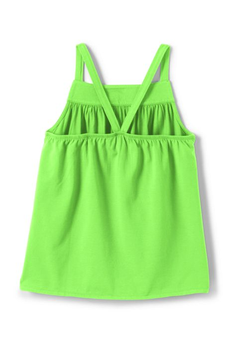 Girls Plus Solid Knit Tank Top