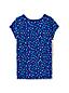 Le T-Shirt à Motifs en Coton Stretch, Toute Petite Fille