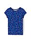 Toddler Girls' Crewneck Pattern T-shirt