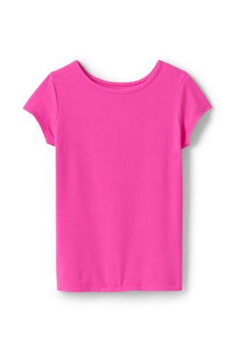 Le T-Shirt en Coton Stretch, Petite Fille