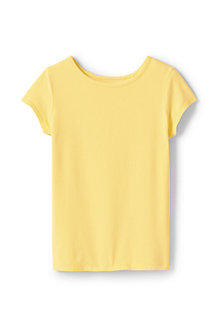 Le T-Shirt en Coton Stretch, Fille