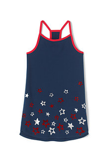 Girls' Racerback Graphic Tunic Top