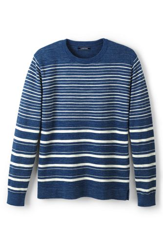 Men's Mariner Striped Cotton Jumper