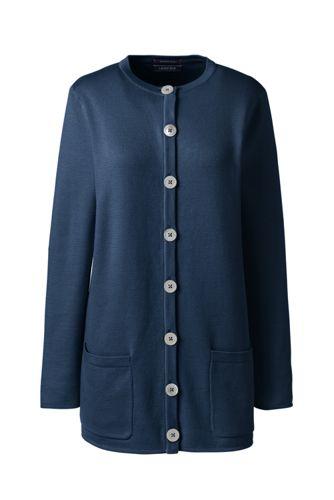 レディス・スーピマ・ハーフミラノ・セータージャケット