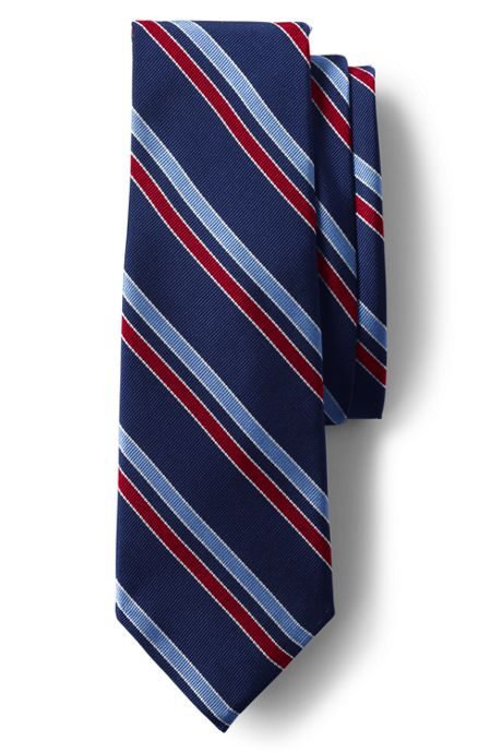 Men's Silk Mogador Stripe Tie