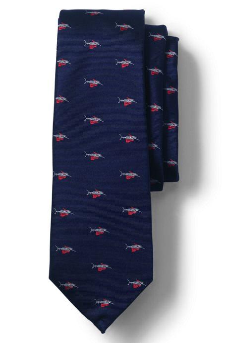 Men's Silk Marlin Tie