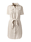 La Robe Chemise en Lin, Femme Stature Standard