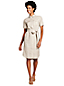 Women's Utility Linen Shirt Dress
