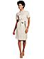 Women's Utility Linen Shirt Dress