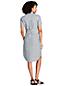 Women's Print Utility Linen Shirt Dress