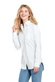 Women's Poplin Boyfriend Shirt