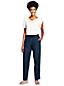 Le Jogpant en Lin Lavé Taille Mi-Haute, Femme Stature Standard