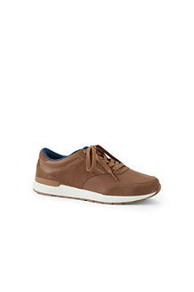 Men's Casual Leather Trainers