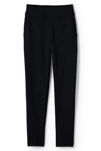 Le Pantalon 7/8 Fuselé Taille Haute, Femme Stature Standard