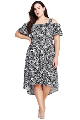Womens Plus Size Peasant Dress From Lands End