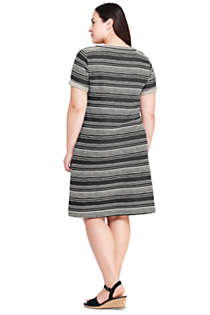 Women's Plus Size Pocket Dress, Back