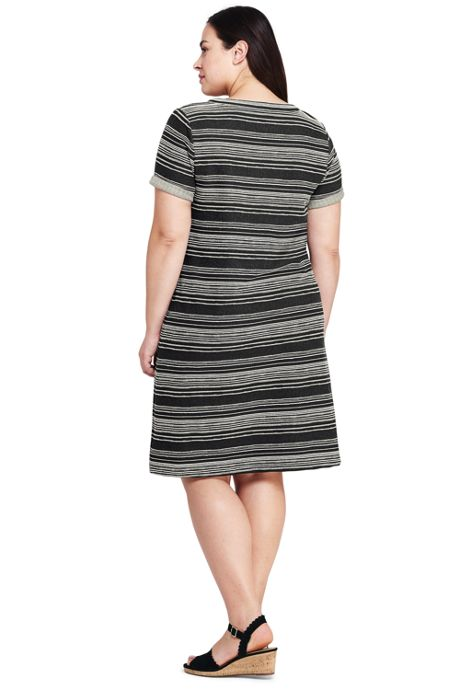 Women's Plus Size Pocket Dress