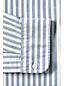メンズ・セイルリガー・オックスフォード・シャツ/バンドカラー/柄/スリムフィット/長袖
