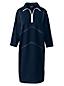 Women's Zip-neck Ponte Jersey Dress