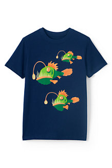 Boys' Appliqué Graphic Tee
