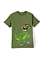 Kurzarm-Shirt mit Grafik-Applikation für große Jungen