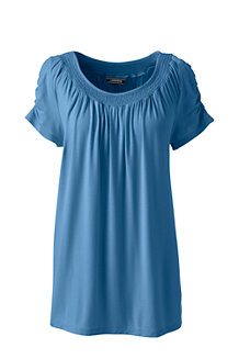 Women's Bamboo Jersey Smock Top