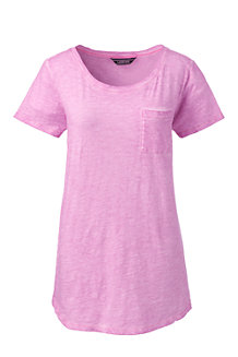 Shirt mit Brusttasche für Damen
