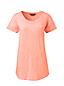 Le T-Shirt en Coton Poche Poitrine, Femme Stature Standard