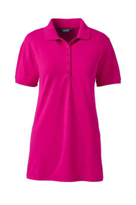 Women's Pique Mesh Polo Shirt