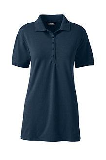 Piqué-Poloshirt für Damen