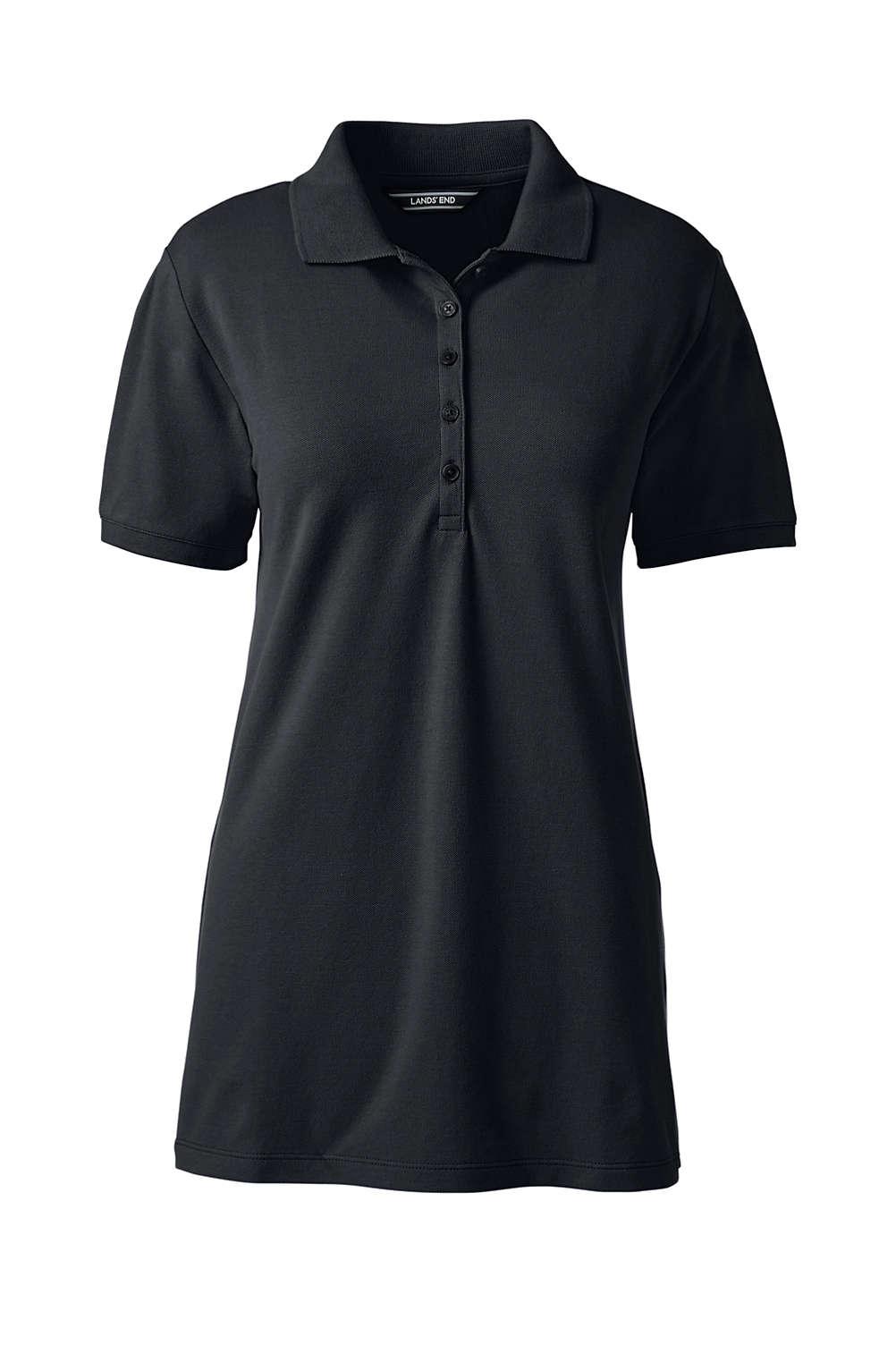 Women s Pique Mesh Polo Shirt from Lands  End 912dfa7136