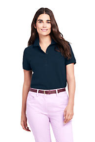 womens polo shirts womens polos lands end