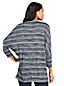 Womens Dolman Sleeve Striped Top