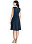 La Robe Effet Cache-Coeur Sans Manches, Femme Stature Standard