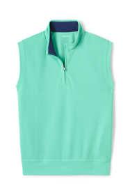 Men's Quarter Zip Pique Golf Vest