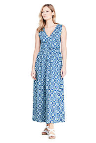 db196bf1c5b2bb Women s Sleeveless Knit Surplice Maxi Dress