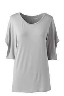 Oversize Shirt aus Bambusviskose