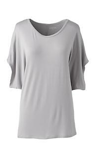 Cheap Sale Browse Very Cheap Womens Soft Dolman Sleeve T-shirt - 10 -12 - RED Lands End Cheap Sale Best Place eDgin